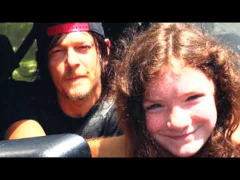 Norman reedus with his fan