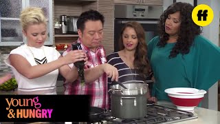 Young & Foodie - Food Bomb on the Set of Young & Hungry