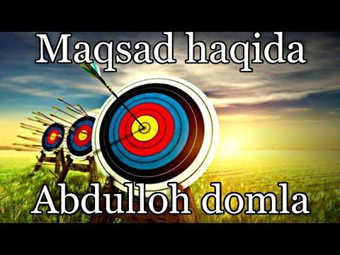 Maqsad haqida Abdulloh