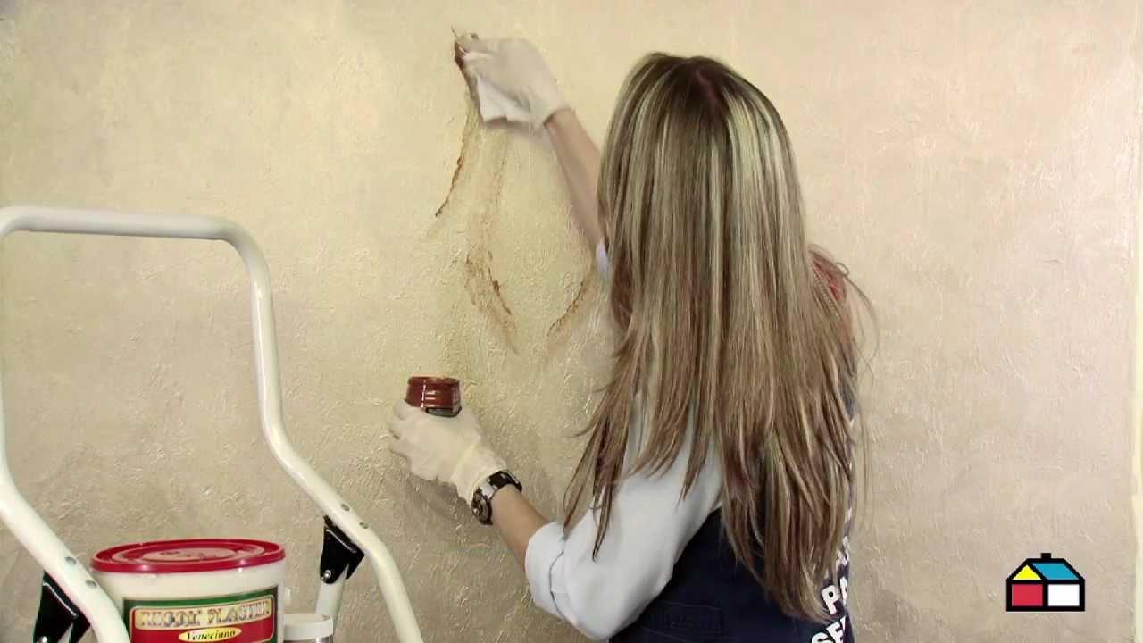 Como aplicar estuco youtube - Aplicacion de microcemento en paredes ...