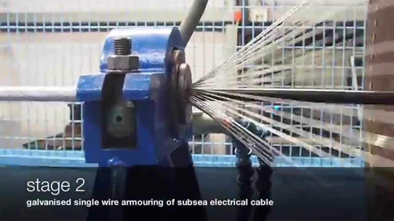 Hydro Cable Armoured Cable Manufacturing - YouTube