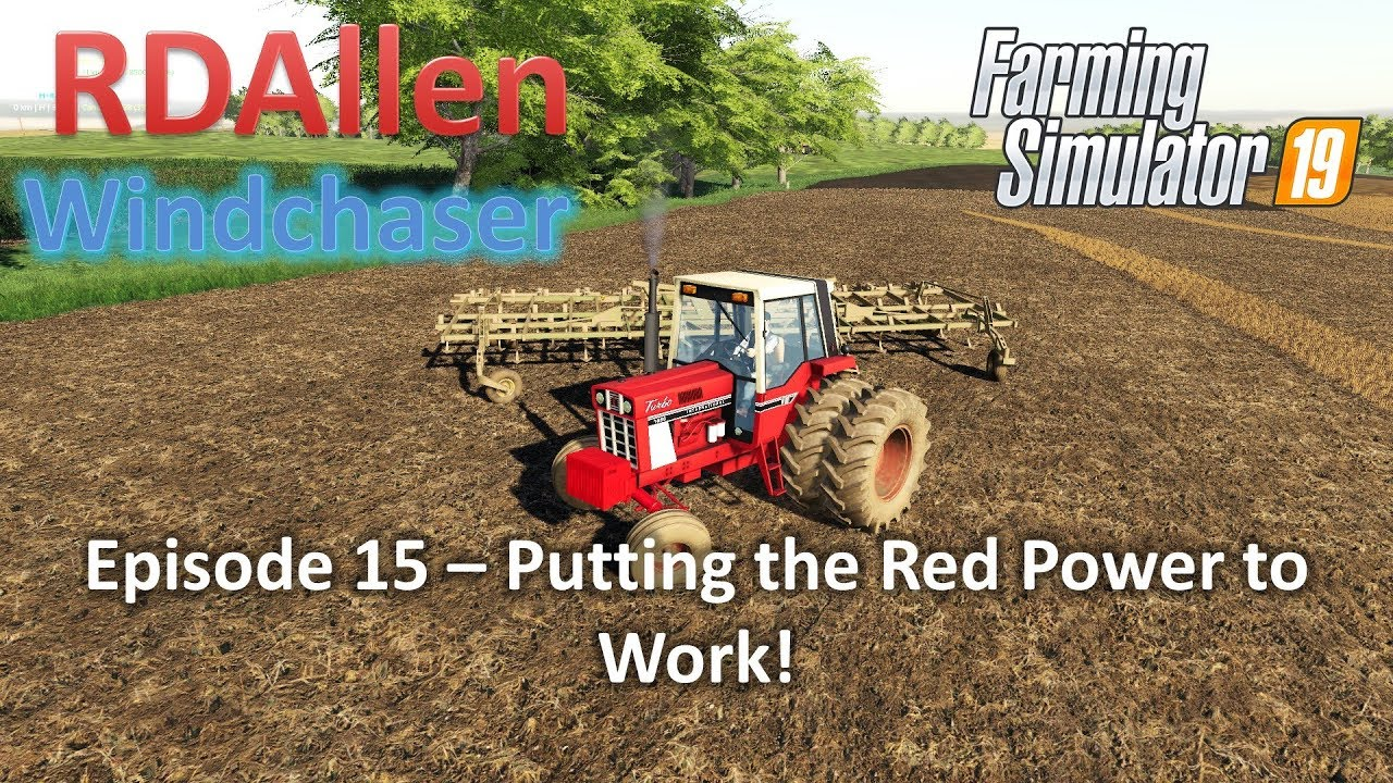 Putting the Red Power to Work | E15 Windchaser | Farming