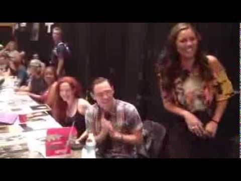 Happy Birthday Burn Gorman at Dragon Con 2013