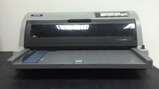 How to replace 4-pin Micro Switch button Epson LQ-690 printer