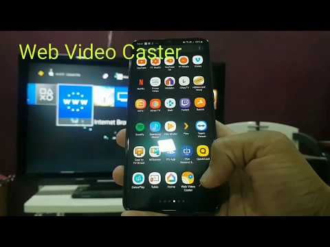 How To Cast A Web Video From Phone To PS4 ( Also Works For X-box, PC, Mac , Smart TV Etc)