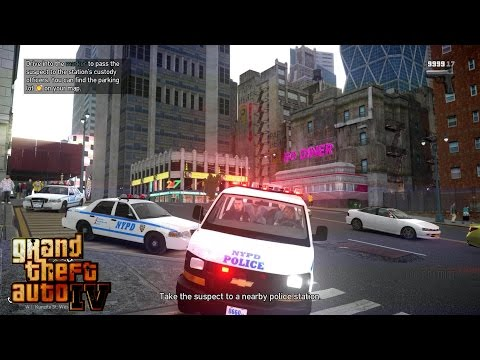 GRAND THEFT AUTO IV - LCPDFR - BACKUP CALLOUT 1.19