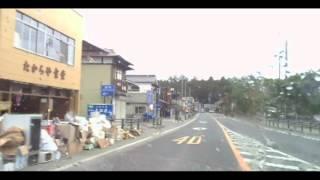 2011年4月撮影・ 宮城県松島町松島 駐車場・たからや食堂 界隈<東日本...