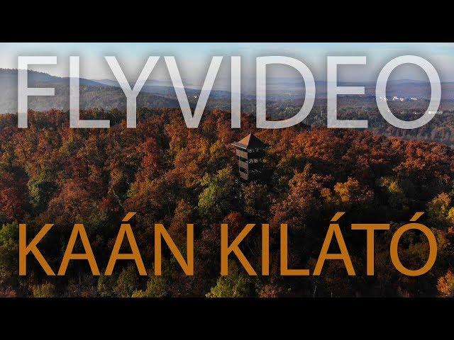 Az őszi Kaán Károly-kilátó / Flyvideo.hu