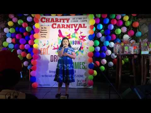 20170527 Denise's rendition of Secret Love Song - Karaoke Competion - Rainbow Hope Charity