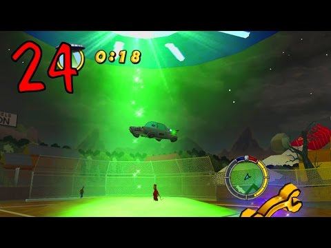 Jahova Plays The Simpsons Hit & Run Episode 24 (Homer Simpson - ALIENS!)