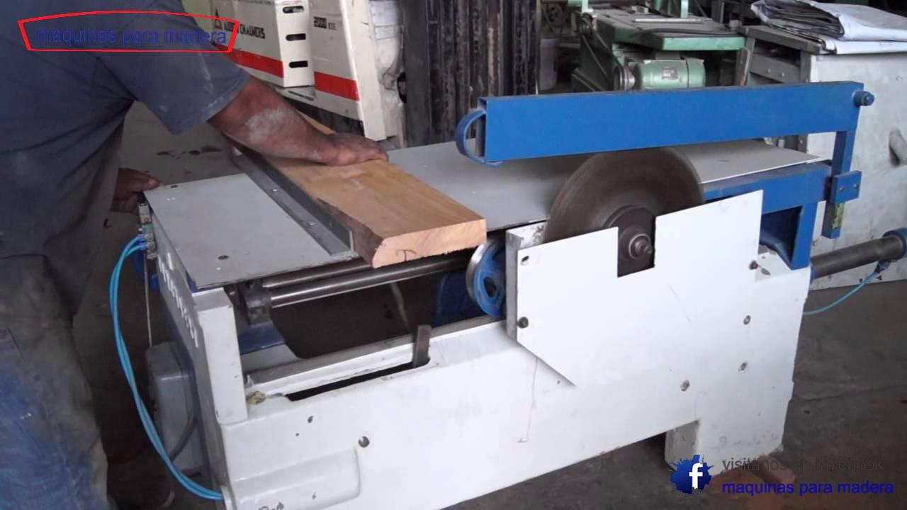 Sierra trozadora danckaert maquinas para madera youtube - Sierra para cortar madera ...
