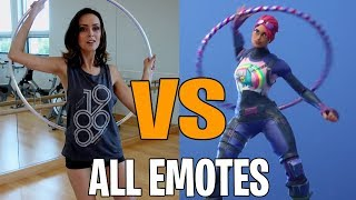Fortnite All Emote & Dances in Real Life! (NaNa NaNa , Scenario , Hoop Master)