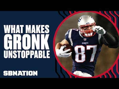 What makes Rob Gronkowski unstoppable