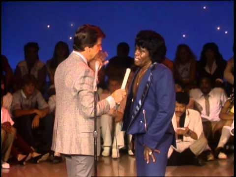 Dick Clark Interviews James Brown - American Bandstand 1983