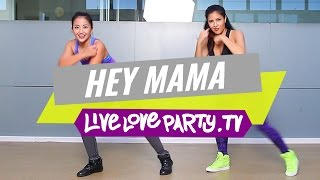 hey mama audio muted due to copyright claim   zumba choreo by prince paltu ob   live love party