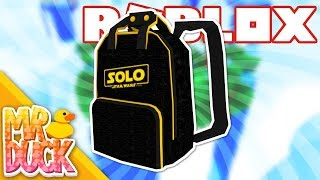 HOW TO GET THE SOLO BRANDED BACKPACK - ROBLOX BATTLE ARENA
