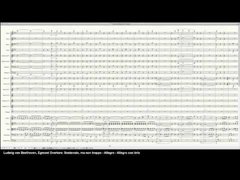 Beethoven Egmont Overture - Programed in Finale 2014 by pkmtKuma