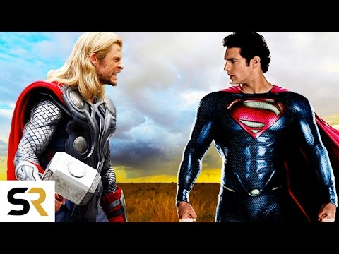 Superman VS Thor: Clash of the Gods - New...