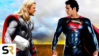 Superman VS Thor: Clash Of The Gods - New Epic Fan Trailer (Marvel VS DC)