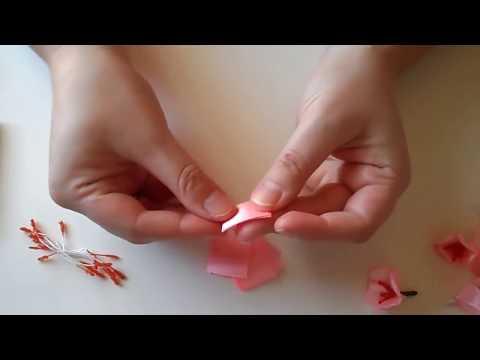 Как сделать лепестки для розы из бисера