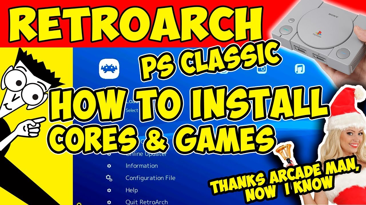 🛠️HOW TO: INSTALL RETROARCH IN PS CLASSIC