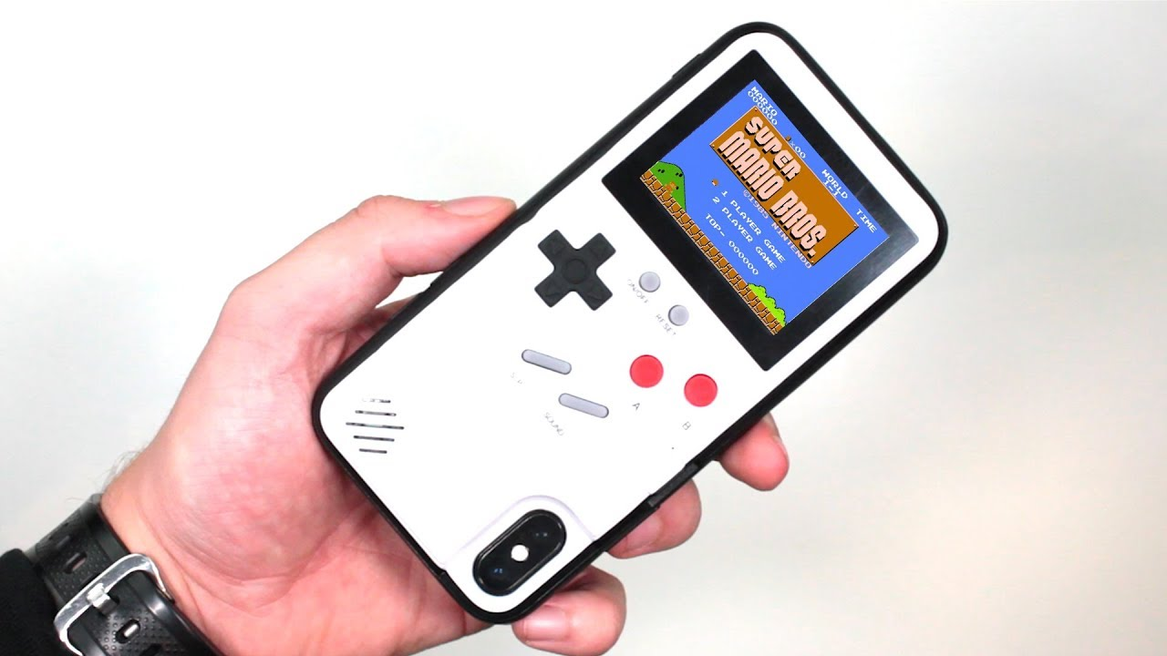 official photos d3705 a2500 Meet The Gameboy iPhone Case That Plays Super Mario
