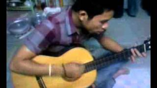 mưa rơi lặng thầm (guitar cover)