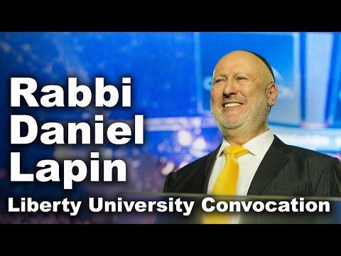 Rabbi Daniel Lapin - Liberty University Convocation