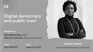 Digital democracy and public trust