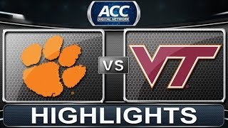 Clemson vs Virginia Tech | 2014 ACC Women