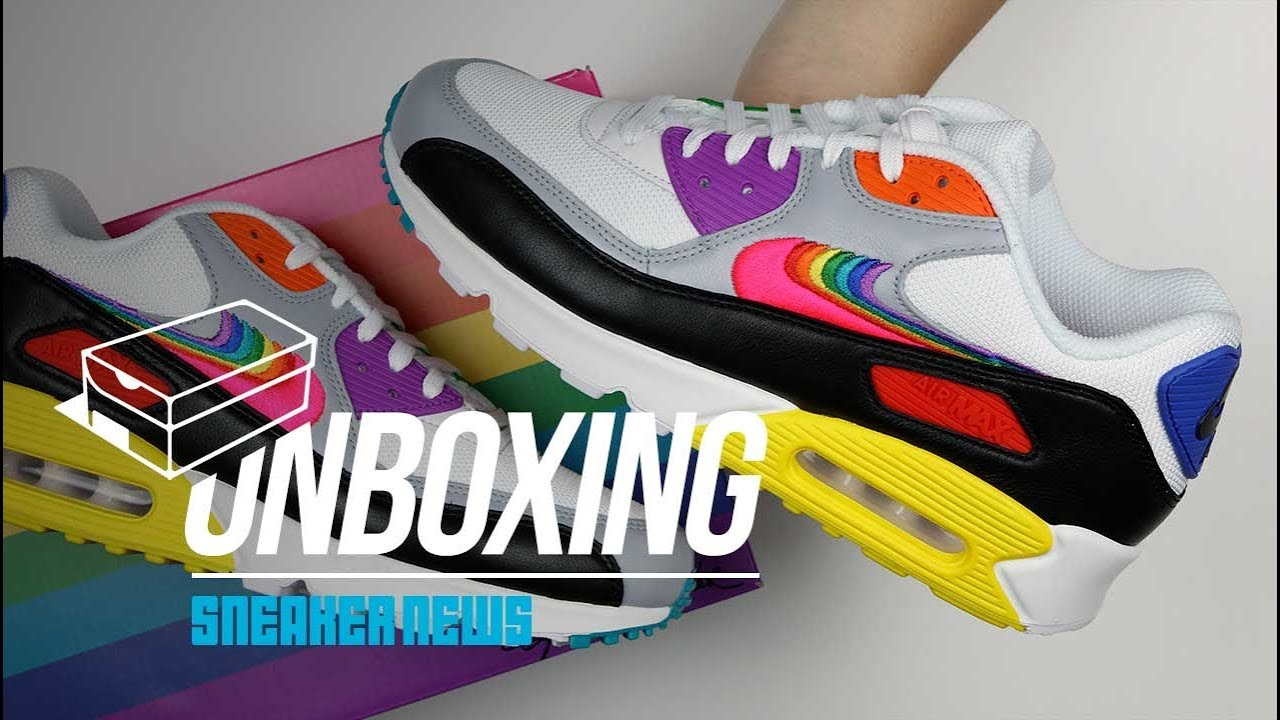pas cher pour réduction 70ce3 37401 Air Max 90 Be True Unboxing + Review
