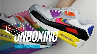 Air Max 90 Be True Unboxing + Review