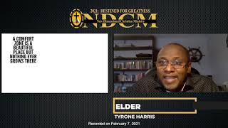 Escape From Complacency-Elder Tyrone Harris