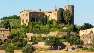 Medieval Castle For Sale in Catalonia, Spain nr Costa Brava w/ Lancois Doval. 13th Century Property