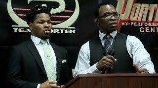 Shawn Porter announces Shawn Porter Promotions; Will promote & co promote fights