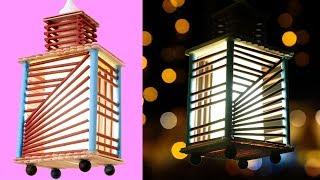 BEST DIY FOR YOUR BEDROOM NIGHT LAMP IDEA    Amazing DIY Lamp    Handmade Things Craft
