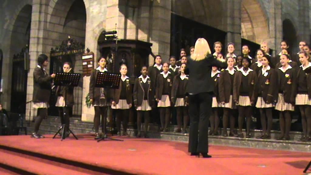 Wynberg Girls High School Choir At St Georges Cathedral -9481