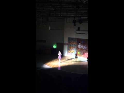 Arianna Angelone 2013 Marsh Grammar School Talent Show