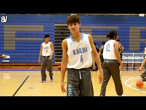 Guard From Hawaii Has GAME! Everett Torres-Kahapea Shows Off BAG VS Aeia!