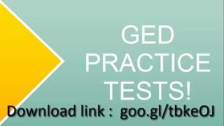 [Free]GED Practice Tests[Printable][2014]