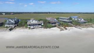 Pawleys Island Beach Following Hurricane Matthew 2016 - Jamie Beard Real Estate