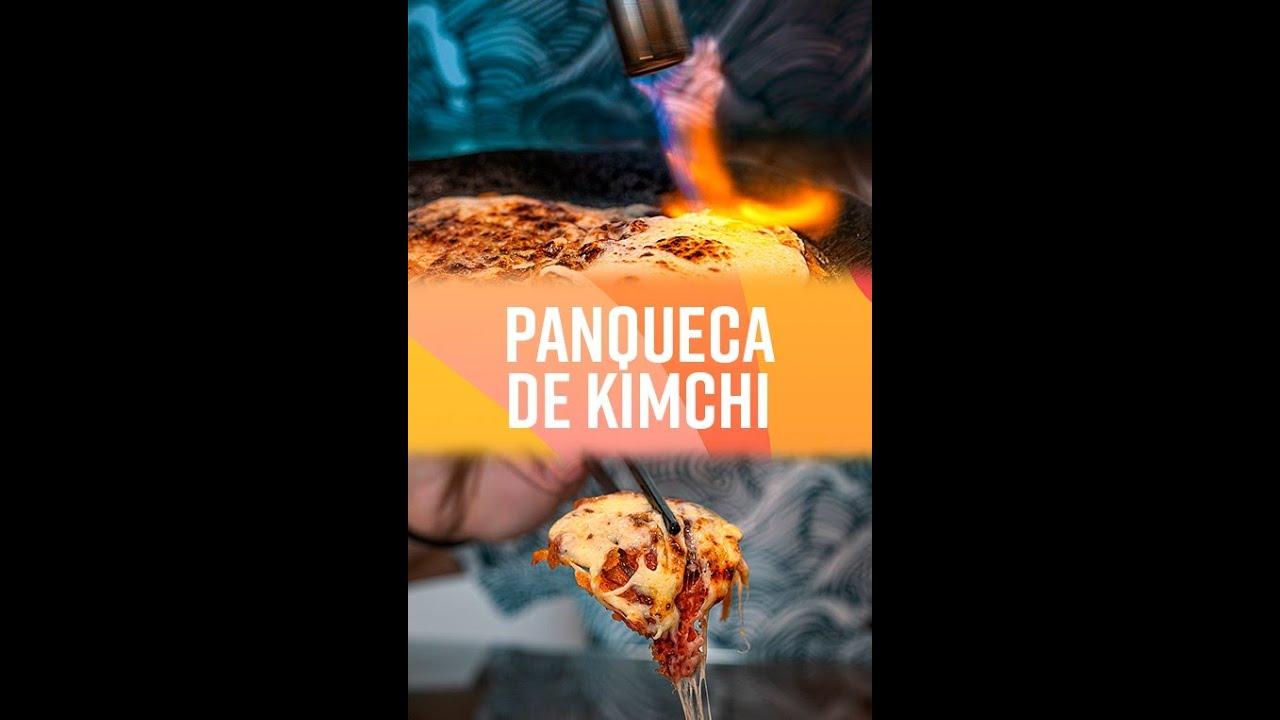 COMO FAZER PANQUECA DE KIMCHI! #shorts
