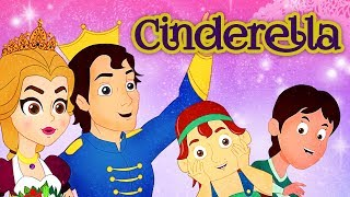 Cinderella - Story In Hindi | Pariyon Ki Kahani परियों की कहानी | Hindi Kahaniya | Hindi Fairy Tales