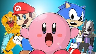 ♪ SUPER SMASH BROS ULTIMATE THE MUSICAL - Animated Parody Song