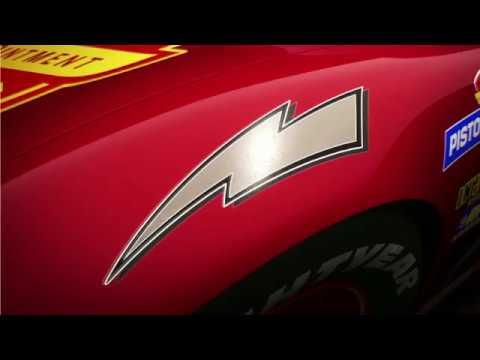 Carros 3, da Disney•Pixar - Faísca McQueen