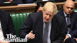 'I will not negotiate delay with EU': Boris Johnson tells furious MPs