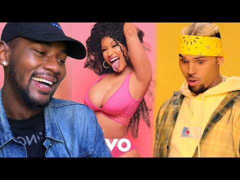 Chris Brown - Wobble Up   ft Nicki Minaj G-Eazy 🔥 REACTION