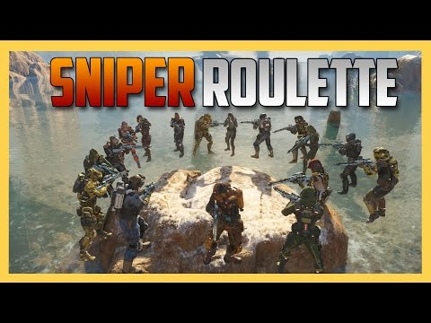 Sniper Roulette on Havoc - Dodging Shots Like Neo. - Call of Duty Black Ops 3 Custom Gameplay