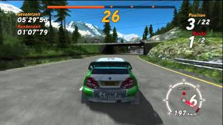Sega Rally Online Arcade - Championship Drive-through
