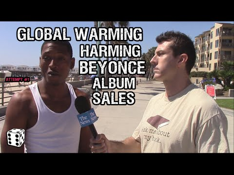 Global Warming is Hurting Beyonce's Album Sales